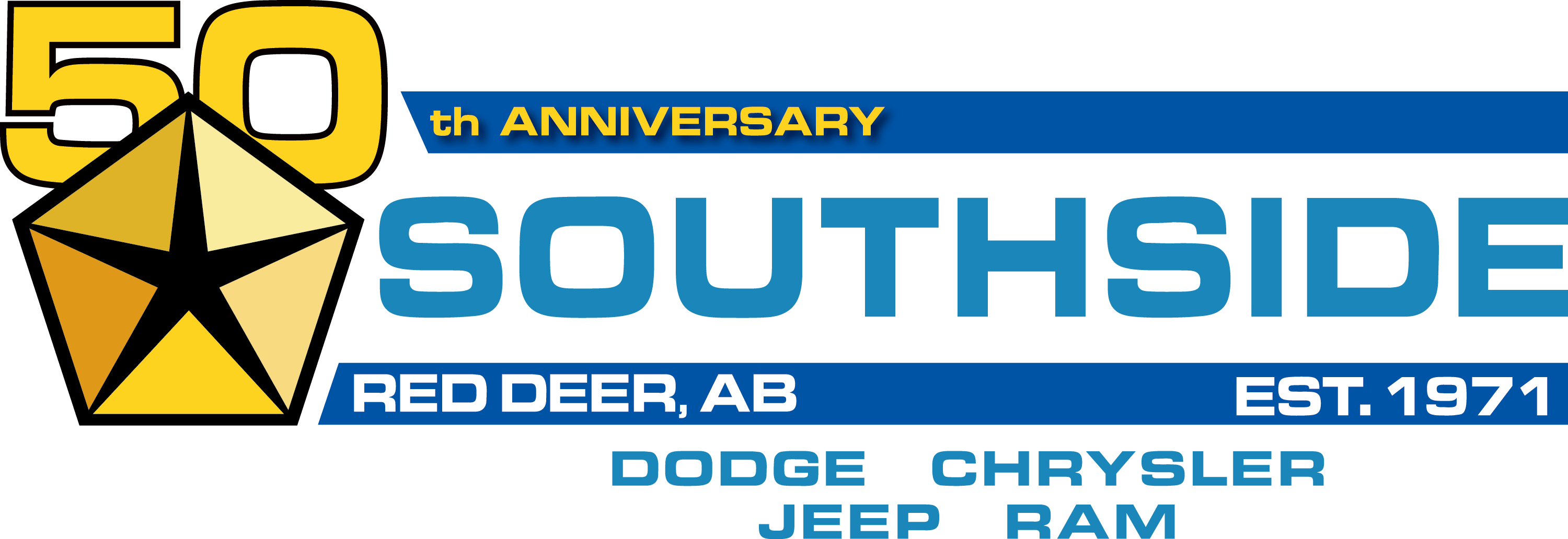 Southside Dodge Chrysler Jeep Ram Logo